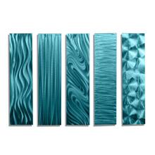 blue wall art statements2000 jon allen metal art decor for living room aqua home decor handmade art