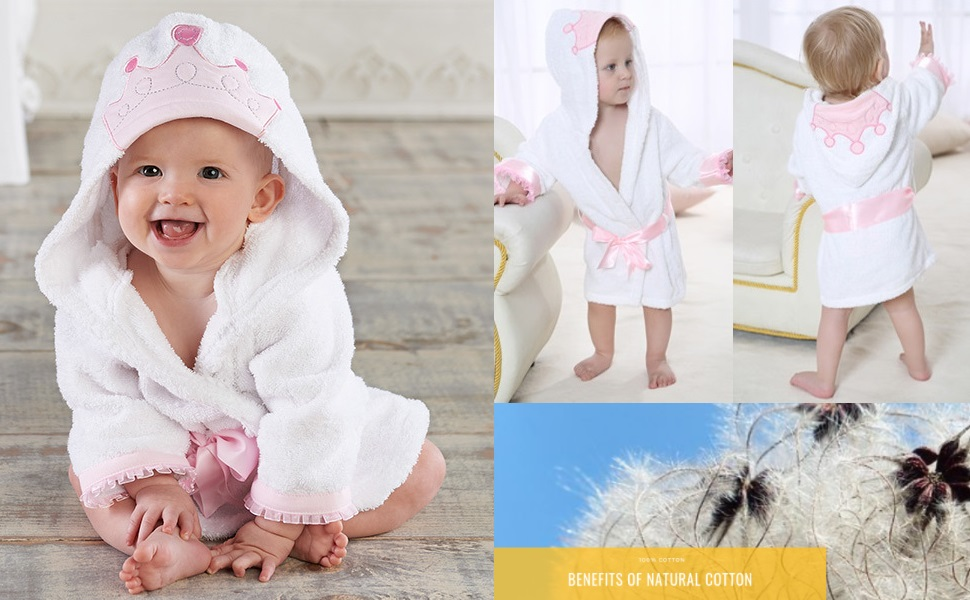 Amazon.com: Baby Girl Bathrobes Wash