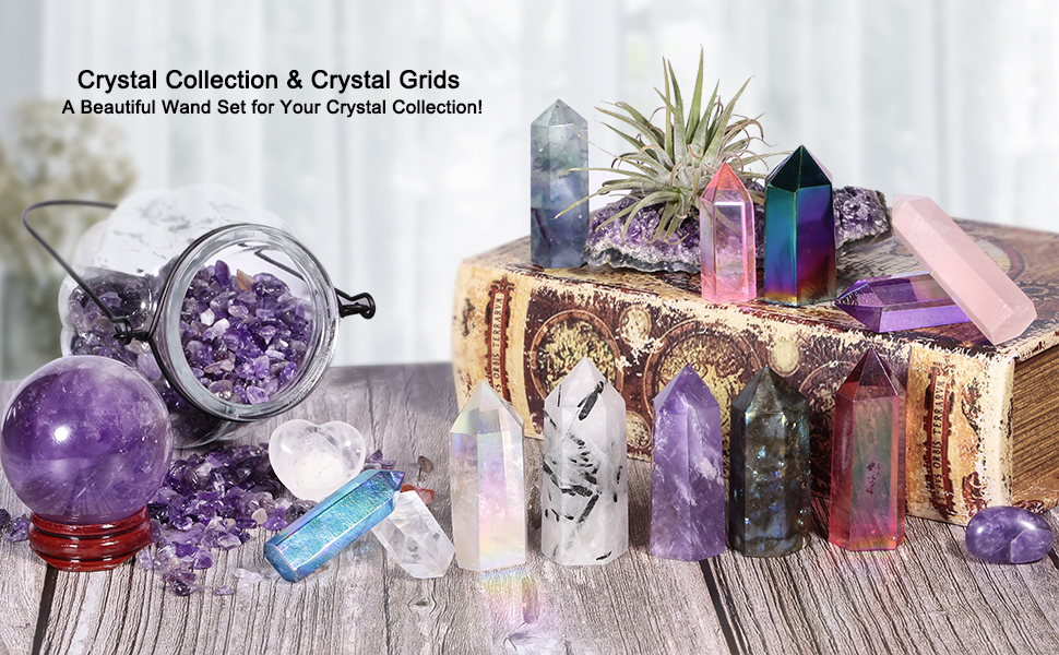 Crystal Collection amp; Crystal Grids