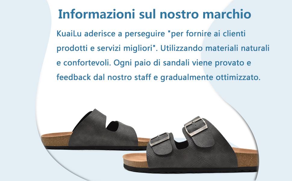 KUAILU mens sandals