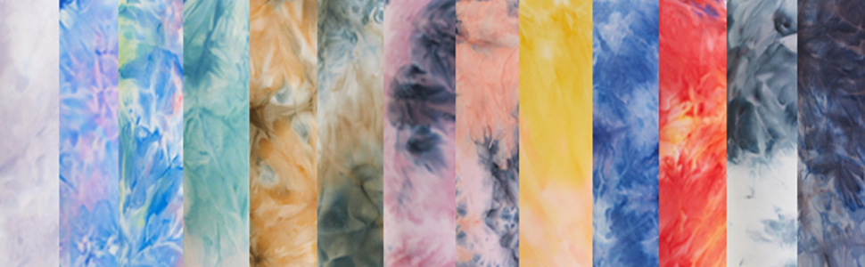 Our tie dye colors are unique,you can't find the same color as ours elsewhere