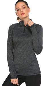 Women's half zip pullover