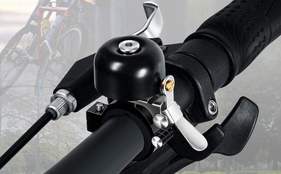 1x Bicycle Bell Road Mountain Bike Mental Plastic Sound Bike Handlebar Horn KeTW