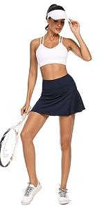 Deep Blue Tennis Skirt