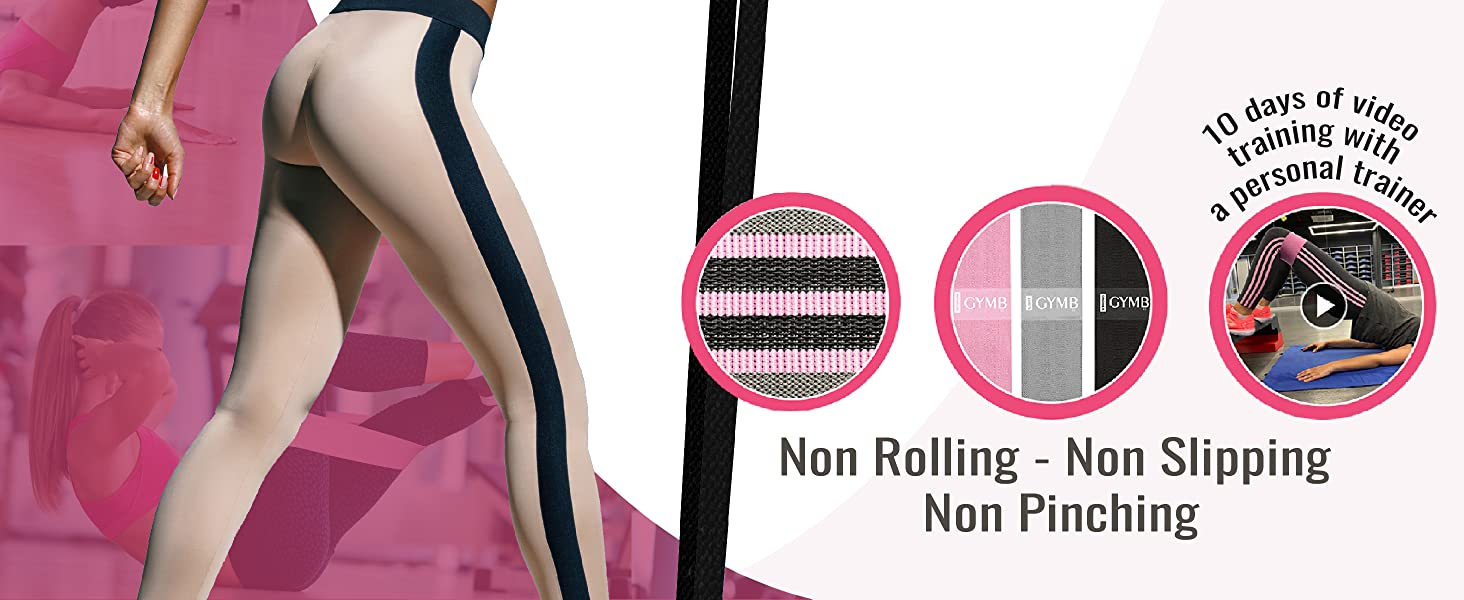 non rolling resistance bands
