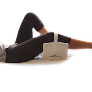 pillow sciatica memory foam swelling inflammation leg hip back pain reduce posture spine alignment