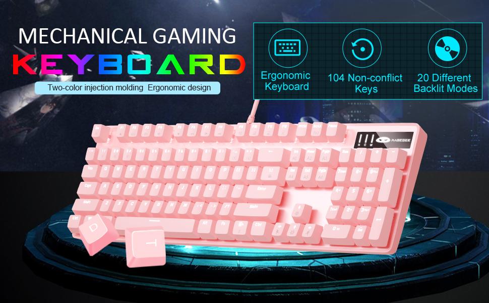 MageGee mechanical gaming keyboard