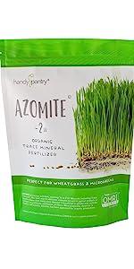azomite mineral fertilizer handy pantry microgreens microgreen
