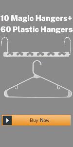 Lot de 50/cintres en Velours antid/érapant Multi-usages by Blanc Ivoire Ultra-Robustes et permettant Un Gain de Place avec Crochets pivotant /à 360/° et Partie sup/érieure crant/ée UMI