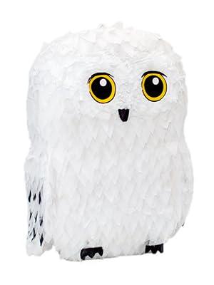owl piñata, white owl pinata, wizard pinata, animal pinata, white pinata, fall pinata, graduation