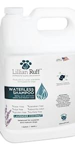 waterless shampoo