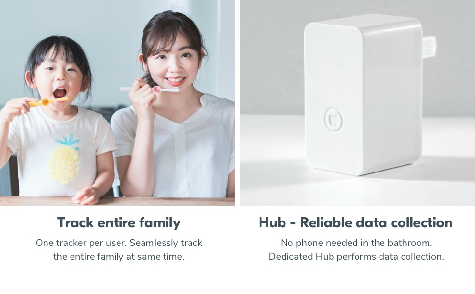 track entire family and reliable data collection