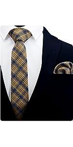 Plaid Cotton Tie