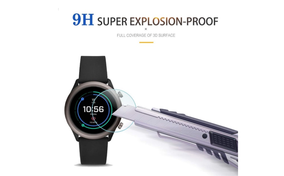 9h hardness screen guard for smartwatch guard unbreakable