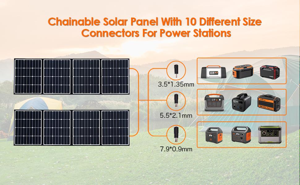 chainable solar panel
