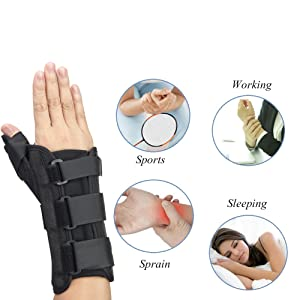 wrist thump splint brace