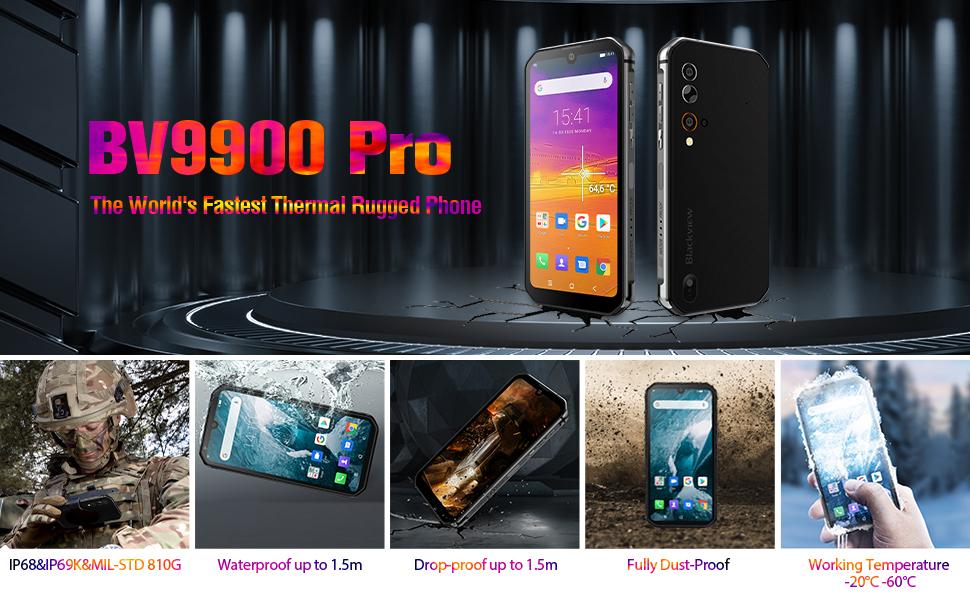 Waterproof, Drop proof, Dust proof Unlocked Smartphones