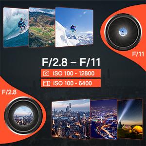 Autel Robotics EVO 2 Drone Camera- Adjustable ISO Aperture F2.8-F11