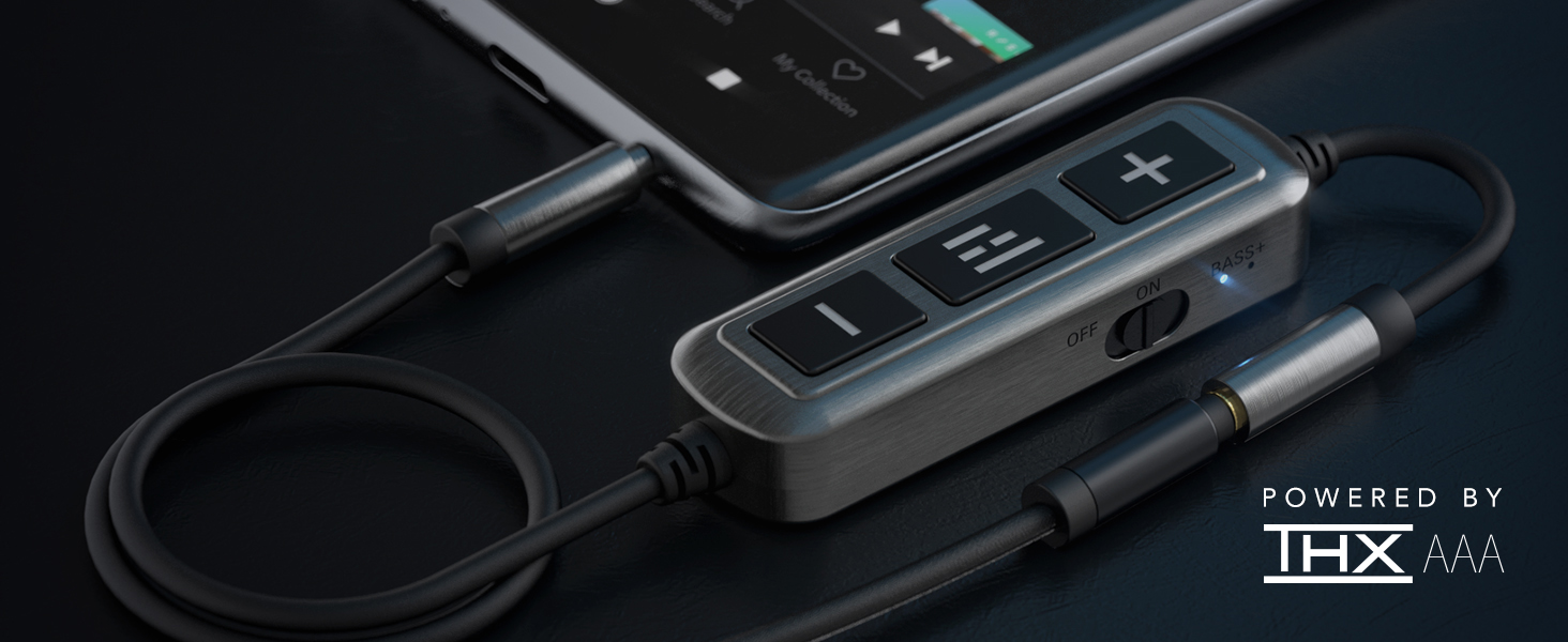 helm audio db12 aaa mobile headphone amplifier powered by thx aaa certified audiophile hd amp  HELM DB12 AAAMP Mobile Headphone Amplifier, THX AAA Technology, Analog Amplifier, 12 dB Signal Boost,+6 dB Bass Boost, THX Certified, Male 3.5mm to Female 3.5mm Audio Jack, Studio Sound on The go 7b56da6b 2cc7 482b a633 d5fa33012a15