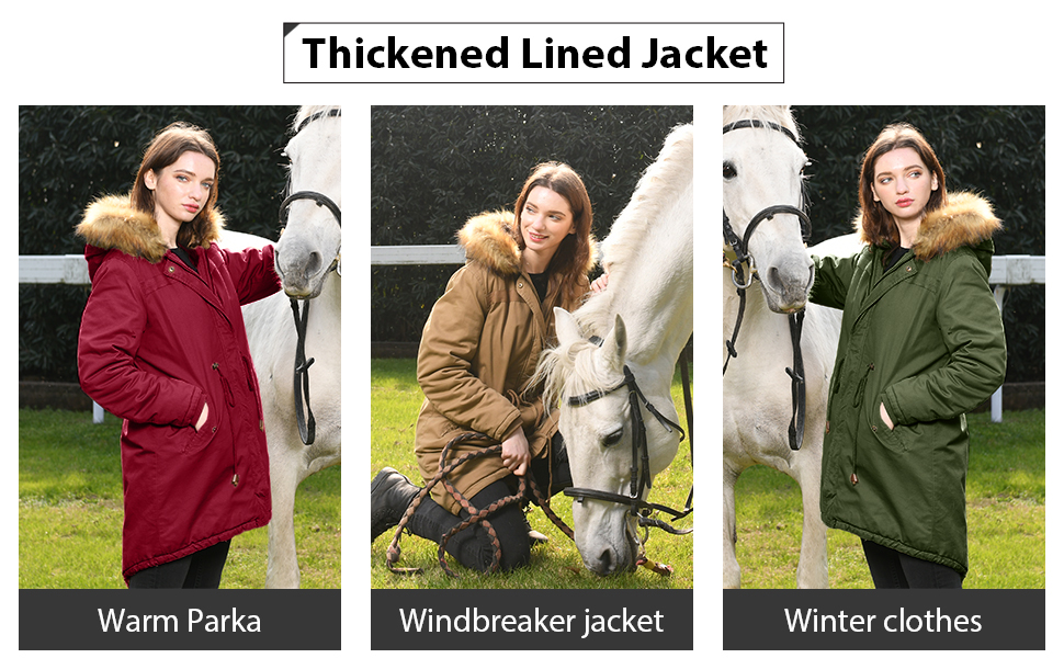 winter jacket women long jackets for women lined coat women trench coat for ladies womens parka