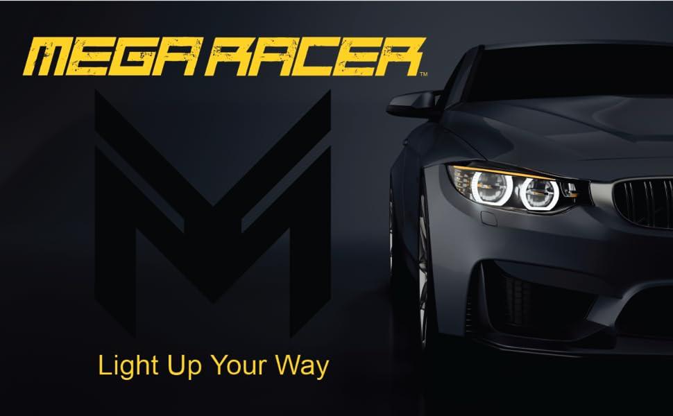 Mega Racer 9005 9006 9007 9008 h11 h8 h9 d2s d1s d3s d4s led halogen hid bulbs