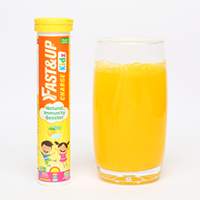 fast&up; vitamin c; immunity; amla; cold; cough; health; supplements; effervescent; kids