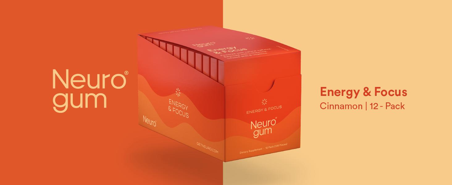 Neuro Gum Cinnamon 12-Pack