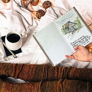 reisdagboek leder