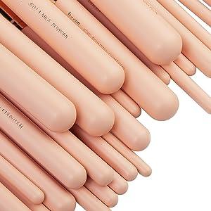 labeled makeup brushes set