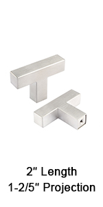 brushed nickel single hole square cabinet knobs and pulls sliver