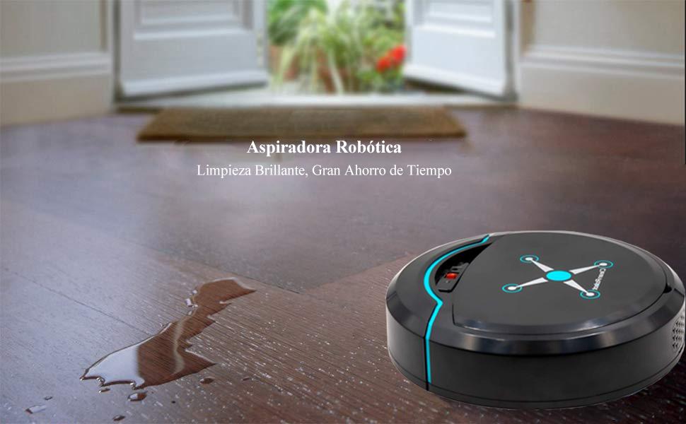 Recargable Sensor Aspira Polvo Pelusa Inteligente para limpiar polvo, cabello y otras cosas pequeñas