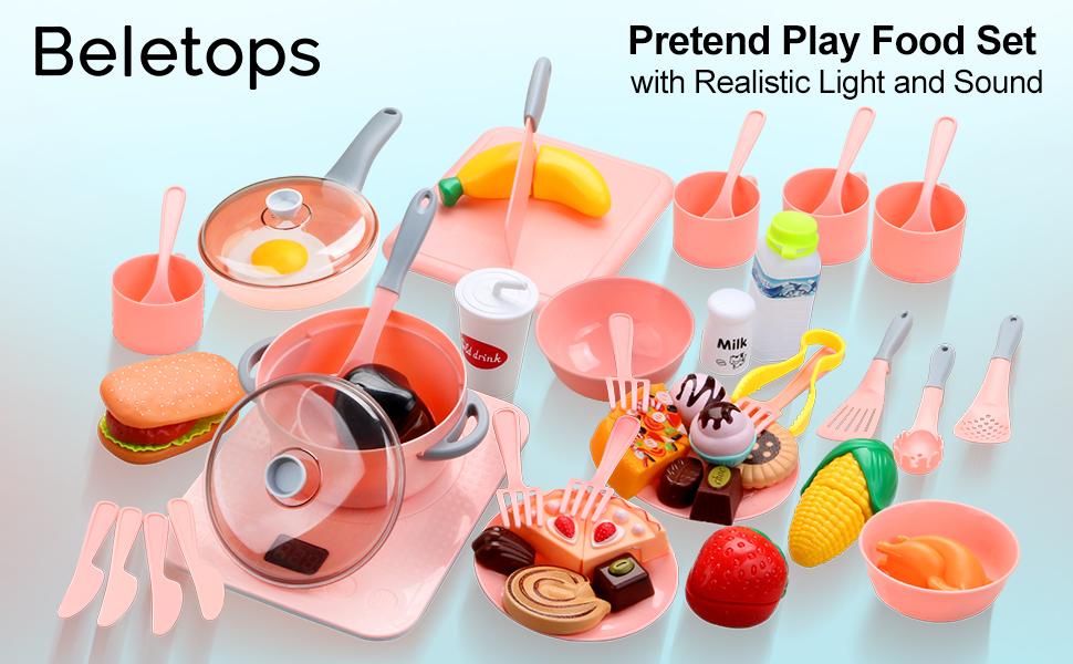 Kids Play Food Play Kitchen Set