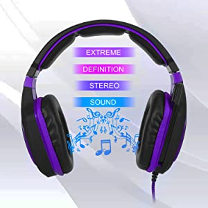 Stereo Gaming Headset with Mic