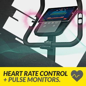 Heart Rate Control (HRC) + Pulse Monitors