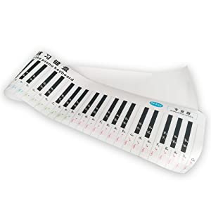 Version 88 Key Keyboard Piano Finger Simulation Practice Guide Teaching Aid H6Z2