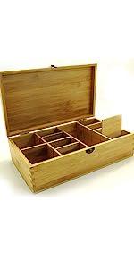 adjustable wood box