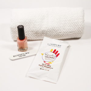 Bodipure keratin gloves hand mask treatment hydrating soft hands skin nail salon spa manicure