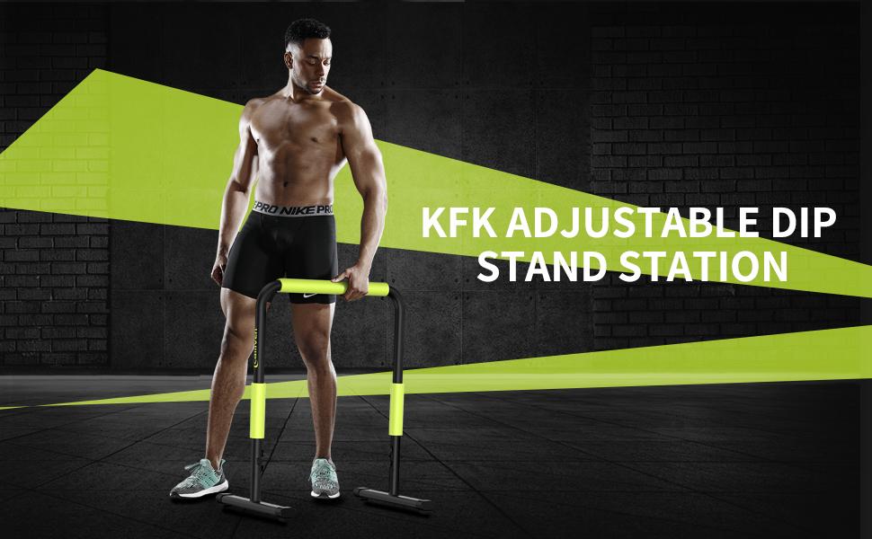 KFK adjustable dip stand station
