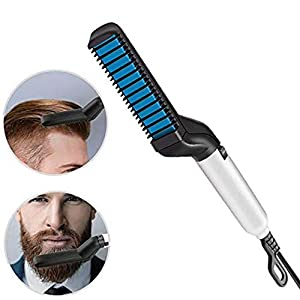 Beard Hair Straightener Comb for Men