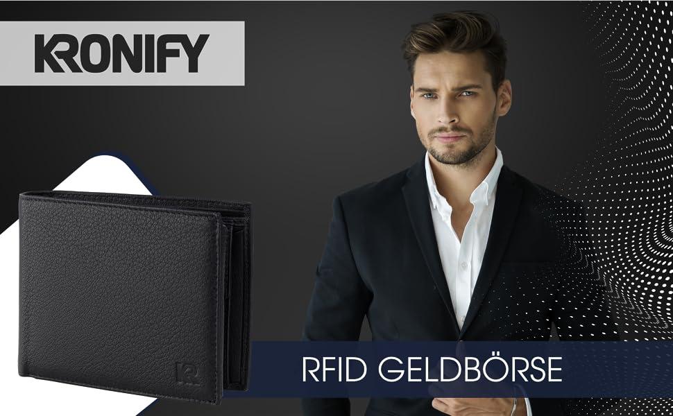 Geldbörse Herren RFID