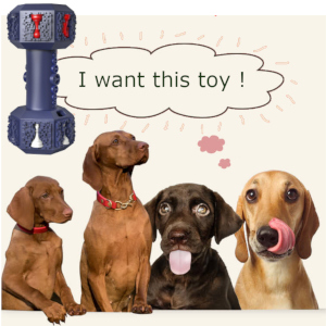 Pet-Fun Dog Chew Toy Large Anti-War Dumbbell