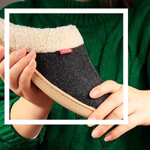 Premium Wool Felt Upper Strong performance of breathability