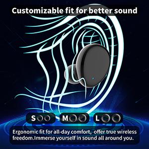 wireless bluetooth earbuds headphones earphones