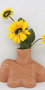 Brown Body Vase