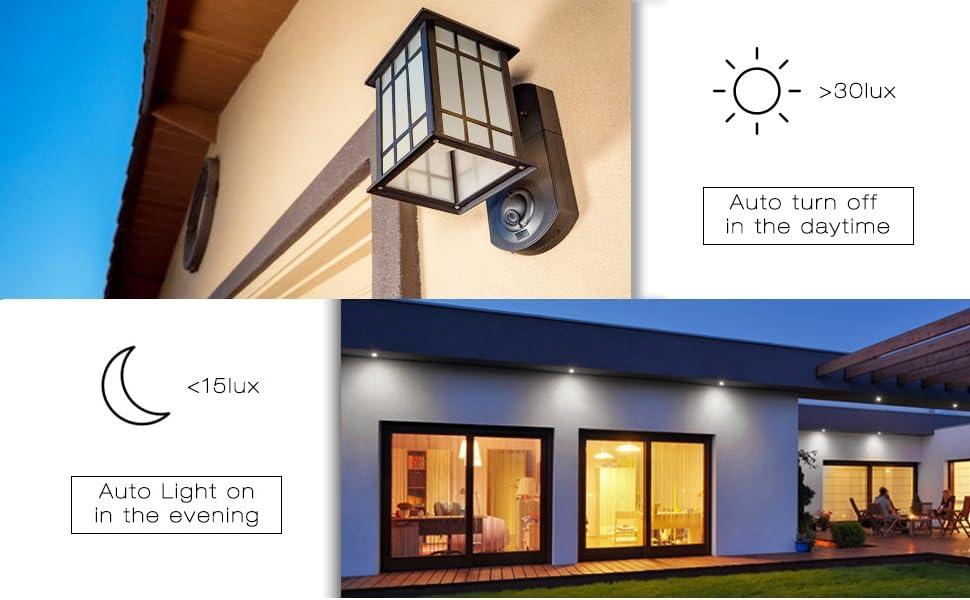 970 x 600 Auto on off dusk to dawn light sensor led bulbs