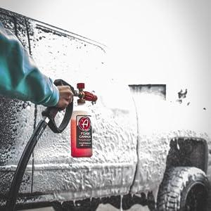 Mega Foam Car Washing Shampoo Soap Bubbles Hair Truck Accessories Tire Off Road Boat Motorycyle RV