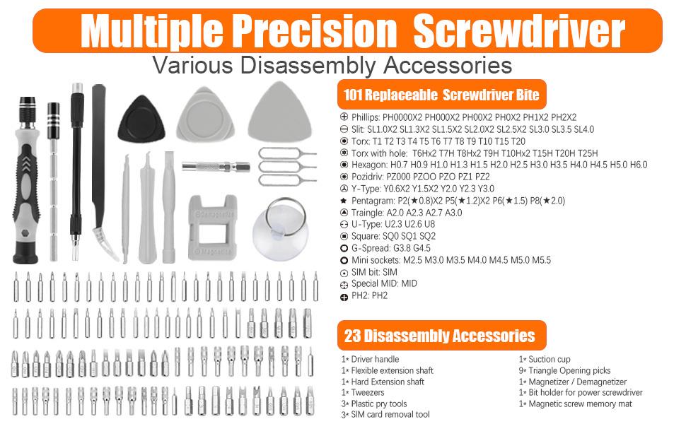 Precision Screwdriver Set Magnetic