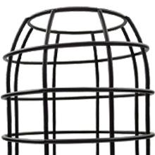 metal cage lamp