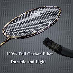 graphite badminton racquet