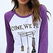 women sanderson sister halloween tees tops come we fly hocus pocus come we fly tshirt we fly shirt